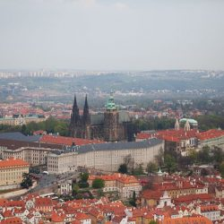 View of Prague from Petrin Tower