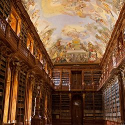 Library at Strahov Monastery, Prague