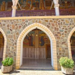 The monastery of Panagia tou Kykkou, also simply known as Kykkos Monastery