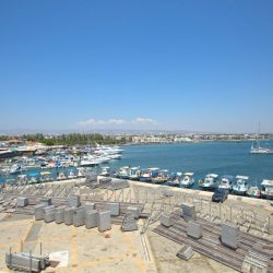 View from Paphos Castle, that over looks the harbour and the city