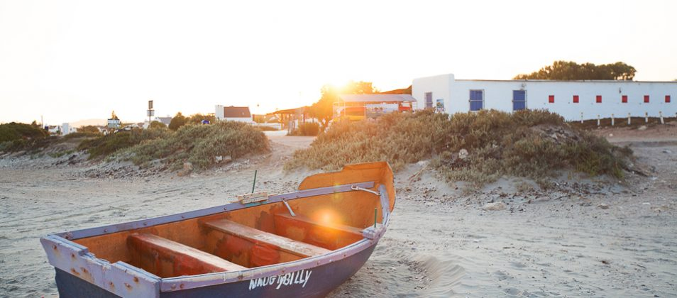 Paternoster at sunrise